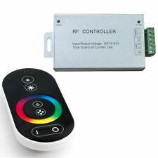 RADIO CONTROLLER LED RGB TELECOMANDO TOUCH + CENTRALINA STRIP LED 12/24V QUALITÀ