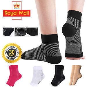 Details about  COMPRESSION SOCKS FOOT ANGEL ANKLE SWELLING PLANTAR FASCIITIS HE
