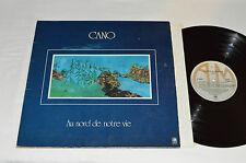 CANO Au Nord De Notre Vie LP 1977 A&M Records Canada Vinyl SP-9028 Rock VG/VG