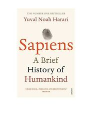 Sapiens A Brief History of Humankind by Yuval Noah Harari Paperback Cheapest