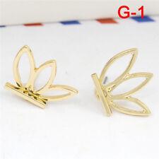 1 Pair Fashion Women Lady Elegant Crystal Rhinestone Ear Stud Earrings Charms O J-2