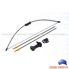 10lbs Longbow Archery Junior Kids Youth long bow Arrow set takedown Sport gift