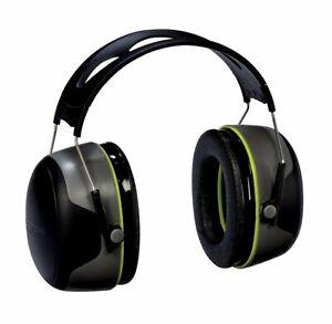 3M Peltor Sport Ultimate Hearing Prot., Blk/Gray, 30 NRR Earmuff #97042