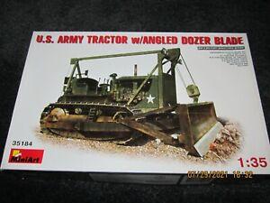 MINIART 1/35 US ARMY TRACTOR W/ANGLED DOZER BLADE MIB