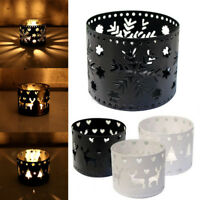 Xms Hollow Candle Holder Candlestick Creative Christmas Decor Party Decoration