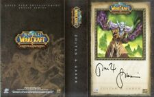World of Warcraft promo Deck Cover Art comic con signed Zoltan & Gabor