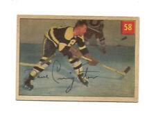 1954-55 Parkhurst:#58 Dave Creighton,Bruins