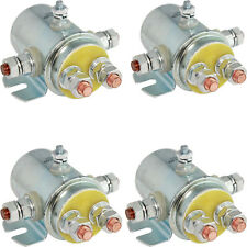 QTY OF 4 SWITCH RELAY SOLENOID For Winch Motor Golf Cart Continuous Duty 5-Term.