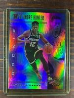 De' Andre Hunter Basketball Rookie Card #181 Panini Illusions Hawks RC MINT NBA
