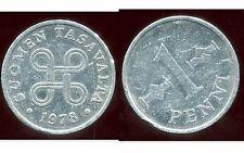 FINLANDE   1 penni 1978  ( bis )
