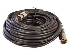 50 ft foot 3pin XLR male to female mic microphone audio extension cable cord 15m