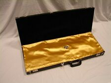 """GOLD """"AxeShield HD"""" Satin Protection Shroud ATTACHES To Fender Strat / Tele Case"""