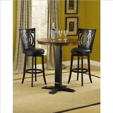 Hillsdale Dynamic Designs Pub Table - Black/Brown Cherry- 4975PTBBLK Table NEW