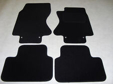 Jaguar S Type 2002-on (Auto) Fully Tailored Deluxe Car Mats in Black
