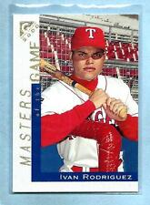 "IVAN RODRIGUEZ - 2000 Topps Gallery - ""Masters Game"" - #115 - MINT- Low Shipping"