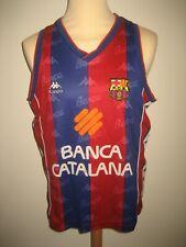 Barcelona vintage Kappa Basketball shirt 1990's Spain jersey trikot size M