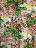Pineapple Juice Hawaiian Classic Large Mens Hawaiian Shirt Coconut Shell Buttons