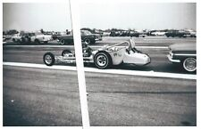 1960's Drag Racing- A/Modified Roadster-Blown Small Blk Chev-Connecticut Dragway