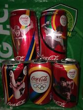rare china Coca coke Cola 2012 London Olympic Games can 330ml empty of 5