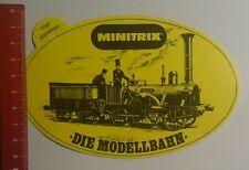 Aufkleber/Sticker: Minitrix Dir Modellbahn (251016105)