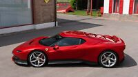 2018 Ferrari SP38 Auto Car Art Silk Wall Poster Print 24x36""