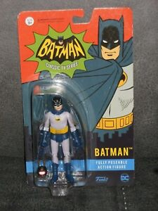 BATMAN CLASSIC TV SERIES FULLY POSEABLE ACTION FIGURE - FUNKO - NEW & SEALED