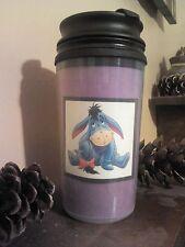 💗 Winnie the Pooh Eeyore Thermo Travel Mug I Love My Dog Drinking Cup Coffee