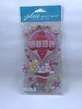 Jolee's Boutique BABY GIRL SPECIAL DELIVERY Dimensional Stickers