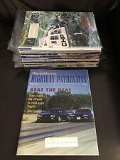 California Highway Patrol CHP Patrolman Magazine Police Car Uniform 98-2000 LOT4
