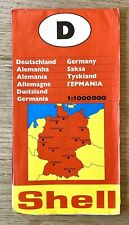 Vintage Touring Map Of Germany 1977