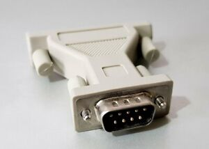 9 pin serial DE9 RS232 connector to 25 pin serial DB25 adaptor (DB9M-DB25F)