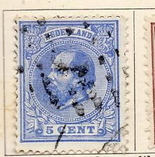 Netherlands 1872-88 Early Issue Fine Used 5c. 119398
