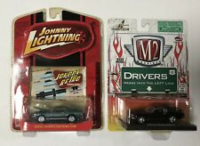 Lot 2 Die Cast cars 1970 Mustang Mach 1 1968 Shelby GT-500 M2 Johnny Lightning