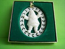 Vintage Lenox Santa Claus Figurine Christmas Ornament