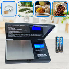 Weigh Gram Scale Digital Pocket Scale 1000g by 0.1g Food Scale Jewelry Kitchen