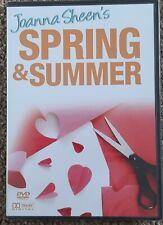 Boulevard JOANNA SHEEN Spring & Summer PAPERCRAFT DVD VIDEO 84 Mins
