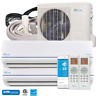 28000 BTU Dual Zone Ductless Mini Split Air Conditioner and Heat Pump 23 SEER
