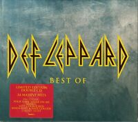 DEF LEPPARD BEST OF LIMITED EDITION 34 MASSIVE HITS CD DOUBLE ALBUM MERCURY