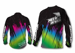 Maillot moto cross homme TAILLE S meldesign