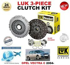 FOR OPEL VECTRA C GTS 1.9 CDTi CLUTCH KIT 2004-ON LUK 3 PIECE w SLAVE CYLINDER