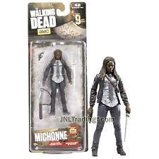 Year 2016 AMC TV Walking Dead 4-1/2 Inch Tall Figure - MICHONNE with Sword & Gun