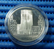 1996 Bank of China Celebrates 60 Years in Singapore Silver Proof Like Medallion