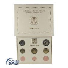 *** EURO KMS VATIKAN 2017 BU Kursmünzensatz Vaticano Coins Coin Set ***