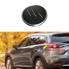 1pcs ABS Gas Door Cover Fuel Tank Oil Cap Trim fit Mazda CX-9 2016 2017 2018