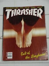 Thrasher Skateboard Magazine July 1995-Longboard Snowboard Vega$ New Bomb Turks
