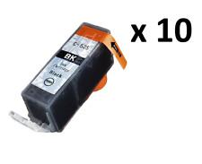 10 PGI-525PGBK Black Ink Cartridge For Canon Pixma IX6550