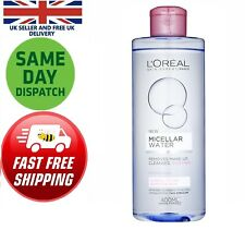 L'Oreal Paris MICELLAR Water Makeup Remove Normal Dry Skin 400ml Cleanser Toner