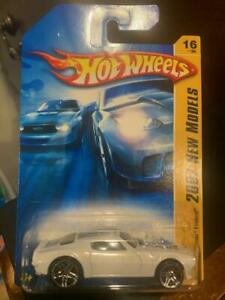 2007 Hot Wheels New Models '70 Pontiac Firebird #16 White