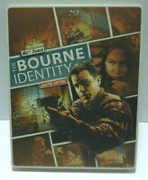 THE BOURNE IDENTITY BLU-RAY + DVD STEELBOOK Limited Edition