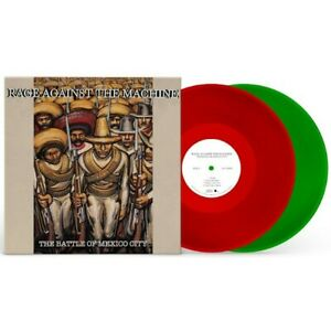 RAGE AGAINST THE MACHINE-THE BATTLE OF MEXICO-LTD & COL ED RSD 2021 EXCLUSIVE